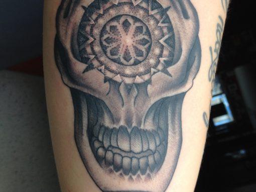 Mandala Skull